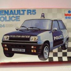 Maquetas: MAQUETA RENAULT 5 ALPINE POLICIA ESCI 1/24. Lote 148092174