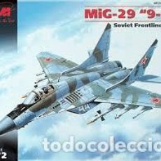 Maquetas: ICM - MIG 29 9-13 THE SOVIET FRONT LINE FIGHTER 1/72 72141. Lote 148102842