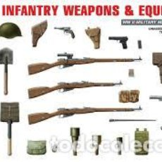 Maquetas: MINIART - SOVIET INFANTRY WEAPONS AND AMMUNITION 1/35 35102. Lote 148105338