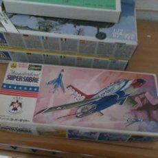 Maquetas: HASEGAWA 1/72 THUNDERBIRD SUPER SABRE. Lote 148152948