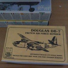 Maquetas: HIG PLANES MODELS 1/72 DOUGLAS DB-7. Lote 148153410