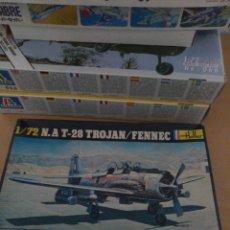 Maquetas: HELLER 1/72 N.A.T T-28 TROJAN. Lote 148154032
