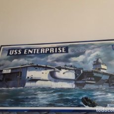 Maquetas: AIRCRAFT-CARRIER USS ENTERPRISE CV-65 SCALE 1/400 ITEM 03101 CC LEE YEAR 199X DECATALOGED.. Lote 148526682