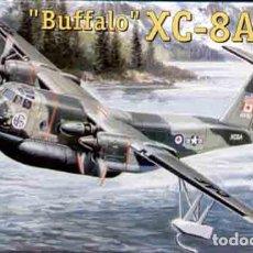 Maquetas: MAQUETA DEL HIDROCANOA DE HAVILLAND CANADA XC-8A BUFFALO DE AMODEL A 1/144. Lote 148533350