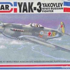 Maquetas: MAQUETA DEL CAZA SOVIÉTICO YAKOVLEV YAK-3 DE EMHAR A ESCALA 1/72. Lote 148535326