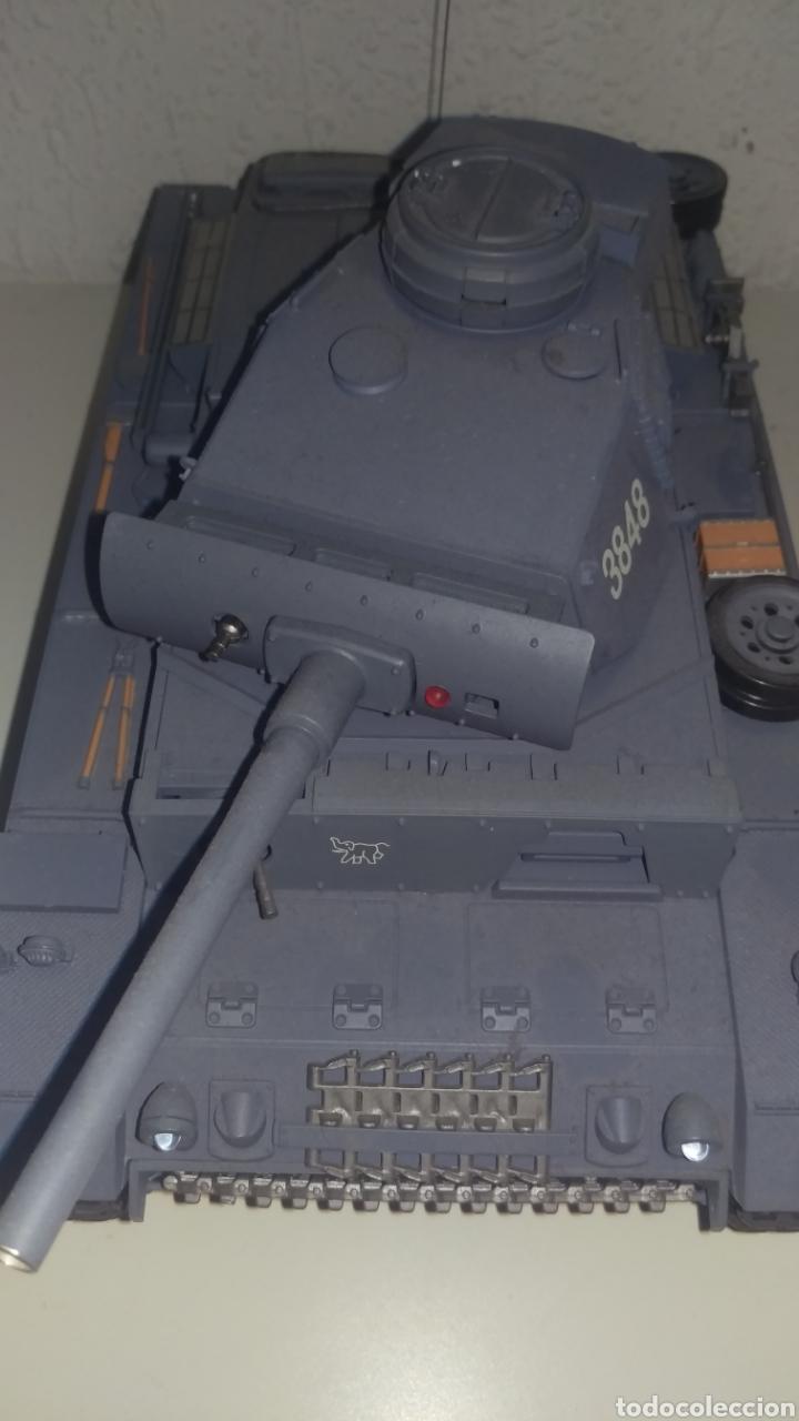 Maquetas: Carro de combate Radio control escala 1/18.funcionando.como se ve. - Foto 4 - 148609084