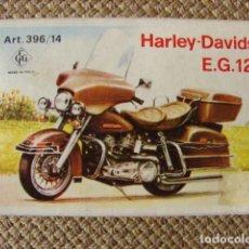 Maquetas: MAQUETA DE HARLEY DAVIDSON E.G. 1200 - CCGT . Lote 148906798