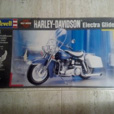Maquetas: HARLEY DAVIDSON ELECTRA GLIDE, REVELL 1:8. Lote 148922146