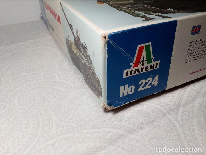 Maquetas: LEOPARD 1 A4 -Nº 224 - TANQUE DE LA ALEMANIA Fed. MAQUETA 1/35 ITALERI - PRÁCTICAMENTE A ESTRENAR - Foto 4 - 149870198