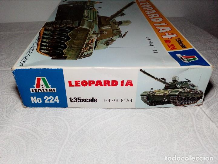Maquetas: LEOPARD 1 A4 -Nº 224 - TANQUE DE LA ALEMANIA Fed. MAQUETA 1/35 ITALERI - PRÁCTICAMENTE A ESTRENAR - Foto 6 - 149870198