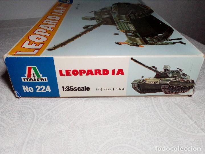 Maquetas: LEOPARD 1 A4 -Nº 224 - TANQUE DE LA ALEMANIA Fed. MAQUETA 1/35 ITALERI - PRÁCTICAMENTE A ESTRENAR - Foto 9 - 149870198