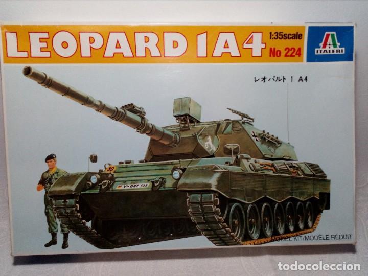 LEOPARD 1 A4 -Nº 224 - TANQUE DE LA ALEMANIA FED. MAQUETA 1/35 ITALERI - PRÁCTICAMENTE A ESTRENAR (Juguetes - Modelismo y Radiocontrol - Maquetas - Militar)