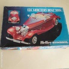 Maquetas: MAQUETA MERCEDES 500K HELLER. Lote 149823270
