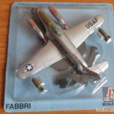 Maquetas: AVIONES: MAQUETA EN METAL ITALERI ESCALA 1/100 : MODELO AVION F-80. Lote 150242838