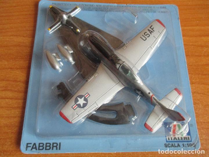 AVIONES: MAQUETA EN METAL ITALERI ESCALA 1/100 : MODELO AVION F-51 MUSTANG (Juguetes - Modelismo y Radio Control - Maquetas - Aviones y Helicópteros)