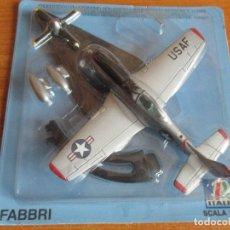 Maquetas: AVIONES: MAQUETA EN METAL ITALERI ESCALA 1/100 : MODELO AVION F-51 MUSTANG. Lote 150243366