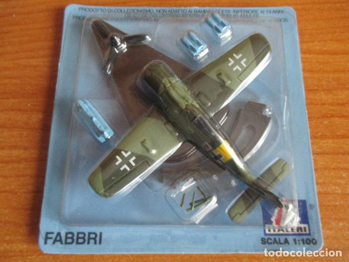 AVIONES: MAQUETA EN METAL ITALERI ESCALA 1/100 : MODELO AVION FW-190 F (Juguetes - Modelismo y Radio Control - Maquetas - Aviones y Helicópteros)