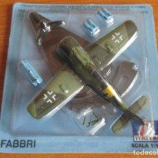 Maquetas: AVIONES: MAQUETA EN METAL ITALERI ESCALA 1/100 : MODELO AVION FW-190 F. Lote 150243806