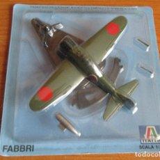 Maquetas: AVIONES: MAQUETA EN METAL ITALERI ESCALA 1/100 : MODELO AVION A-6 ZERO. Lote 150244338
