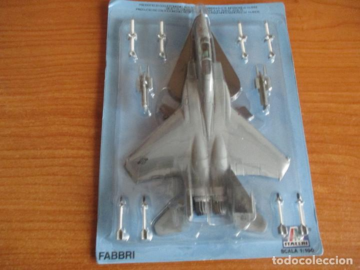 AVIONES: MAQUETA EN METAL ITALERI ESCALA 1/100 : MODELO AVION F-15 EAGLE (Juguetes - Modelismo y Radio Control - Maquetas - Aviones y Helicópteros)