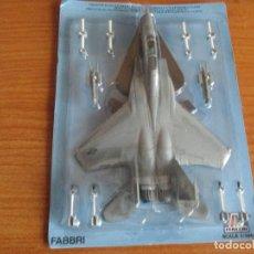 Maquetas: AVIONES: MAQUETA EN METAL ITALERI ESCALA 1/100 : MODELO AVION F-15 EAGLE. Lote 150245822