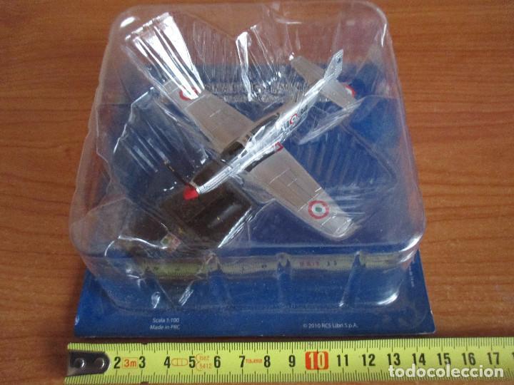 AVIONES: MAQUETA EN PLASTICO Y METAL AVION MODELO: F-51 K MUSTANG (ESCALA 1/100) (Juguetes - Modelismo y Radio Control - Maquetas - Aviones y Helicópteros)