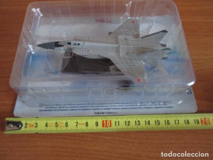 AVIONES: MAQUETA EN PLASTICO Y METAL AVION MODELO: CAZA RUSO MIG 31 (ESCALA 1/100) (Juguetes - Modelismo y Radio Control - Maquetas - Aviones y Helicópteros)