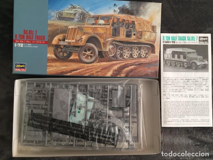 Maquetas: Sd.Kfz 7 8 ton 1:72 HASEGAWA 31111 Mt11 maqueta carro diorama - Foto 2 - 150307078