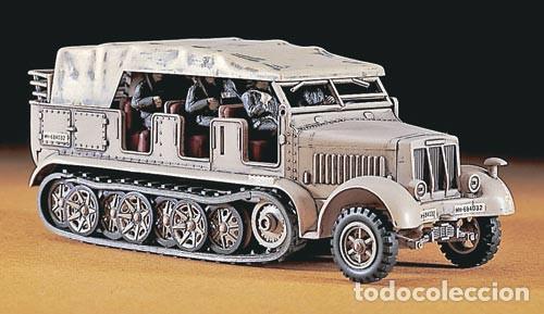 Maquetas: Sd.Kfz 7 8 ton 1:72 HASEGAWA 31111 Mt11 maqueta carro diorama - Foto 5 - 150307078
