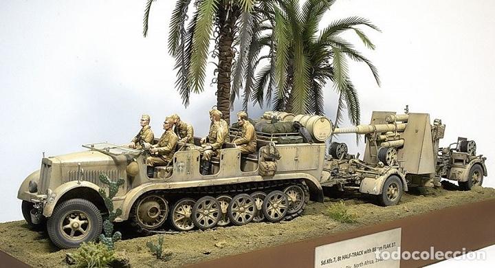 Maquetas: Sd.Kfz 7 8 ton 1:72 HASEGAWA 31111 Mt11 maqueta carro diorama - Foto 20 - 150307078