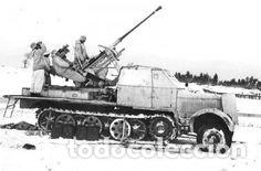 Maquetas: sdkfz 7 8 ton half track 37mm HASEGAWA 31118 Mt18 maqueta carro semioruga - Foto 3 - 150358270