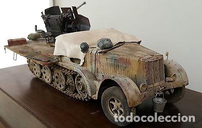 Maquetas: sdkfz 7 8 ton half track 37mm HASEGAWA 31118 Mt18 maqueta carro semioruga - Foto 5 - 150358270