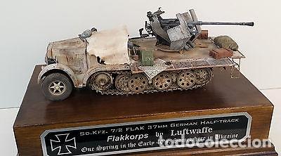 Maquetas: sdkfz 7 8 ton half track 37mm HASEGAWA 31118 Mt18 maqueta carro semioruga - Foto 4 - 150358270