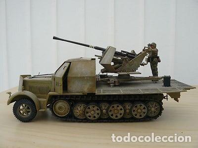 Maquetas: sdkfz 7 8 ton half track 37mm HASEGAWA 31118 Mt18 maqueta carro semioruga - Foto 6 - 150358270