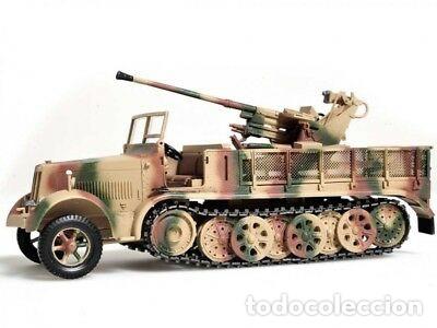Maquetas: sdkfz 7 8 ton half track 37mm HASEGAWA 31118 Mt18 maqueta carro semioruga - Foto 8 - 150358270