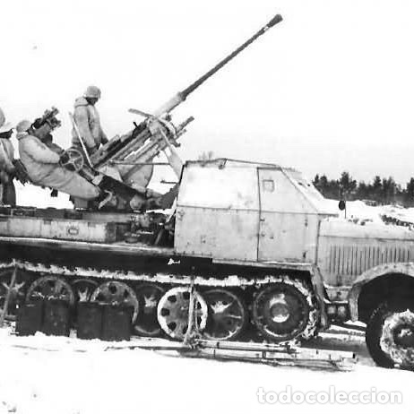 Maquetas: sdkfz 7 8 ton half track 37mm HASEGAWA 31118 Mt18 maqueta carro semioruga - Foto 10 - 150358270