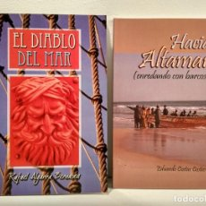 Maquetas: LOTE 2 OBRAS TEMÁTICA NAVAL: 1) EL DIABLO DEL MAR. 2) HACIA ALTAMAR (ENREDANDO CON BARCOS). . Lote 150631938