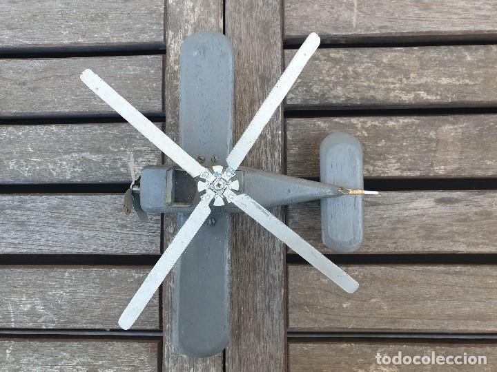Maquetas: ANTIGUA Y RARA AVIONETA AUTOGIRO (HELICOPTERO) DE MADERA - Foto 4 - 150647410