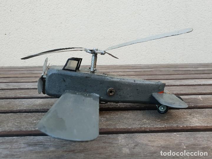 Maquetas: ANTIGUA Y RARA AVIONETA AUTOGIRO (HELICOPTERO) DE MADERA - Foto 5 - 150647410