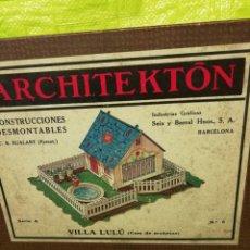 Maquetas: ARCHITEKTON -VILLA LULU-CASA DE MUÑECAS. Lote 150776862