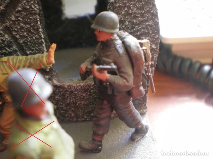 Maquetas: Diorama/Maqueta Soldados Americanos Segunda Guerra TAMIYA Pintados - Foto 2 - 150853018
