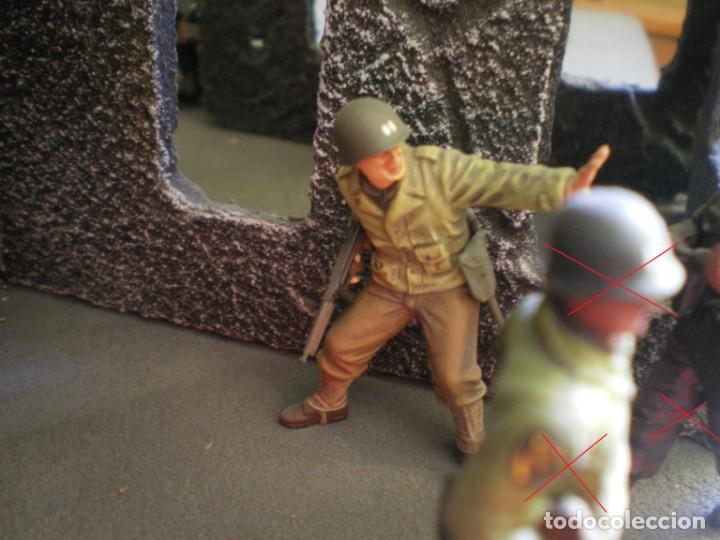 Maquetas: Diorama/Maqueta Soldados Americanos Segunda Guerra TAMIYA Pintados - Foto 3 - 150853018