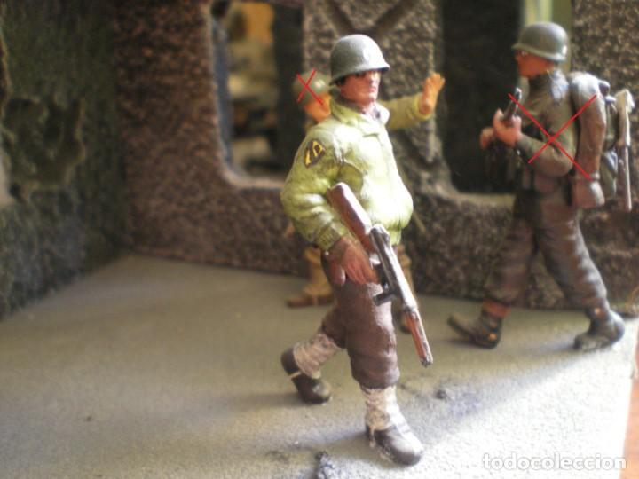 Maquetas: Diorama/Maqueta Soldados Americanos Segunda Guerra TAMIYA Pintados - Foto 4 - 150853018