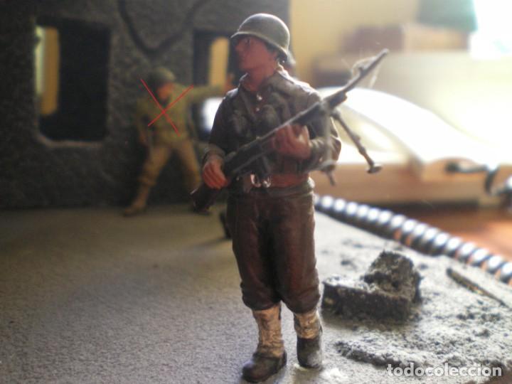 Maquetas: Diorama/Maqueta Soldados Americanos Segunda Guerra TAMIYA Pintados - Foto 5 - 150853018