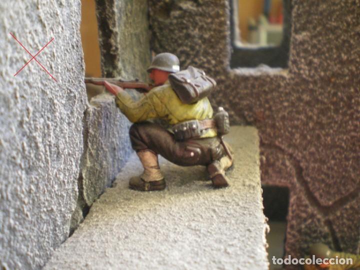 Maquetas: Diorama/Maqueta Soldados Americanos Segunda Guerra TAMIYA Pintados - Foto 6 - 150853018