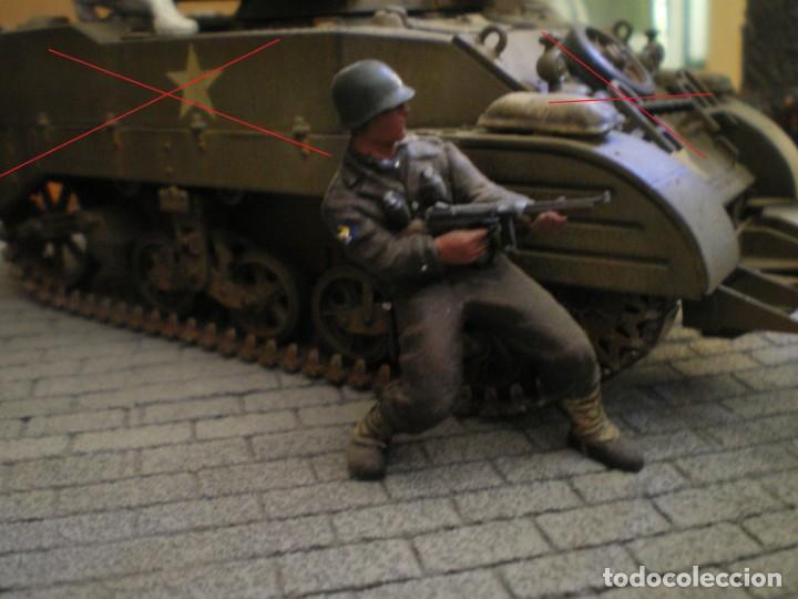 Maquetas: Diorama/Maqueta Soldados Americanos Segunda Guerra TAMIYA Pintados - Foto 8 - 150853018