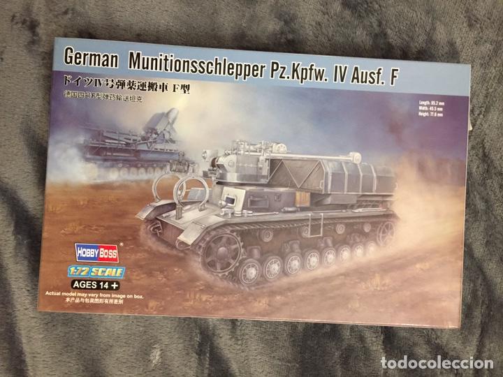 GERMAN MUNITIONSSCHLEPPER PZ. F 1:72 HOBBYBOSS 82908 MAQUETA CARRO AMUNICIONAMIENTO KARL MORSSER (Juguetes - Modelismo y Radiocontrol - Maquetas - Militar)