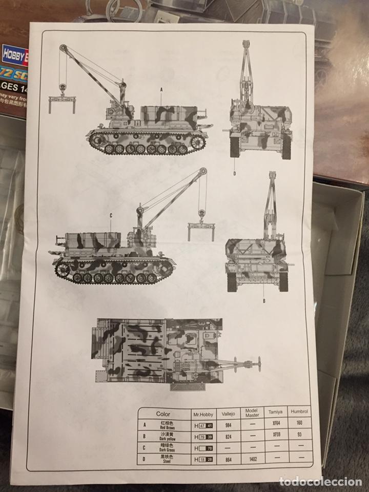 Maquetas: German Munitionsschlepper Pz. F 1:72 HOBBYBOSS 82908 maqueta carro amunicionamiento Karl Morsser - Foto 3 - 151040918