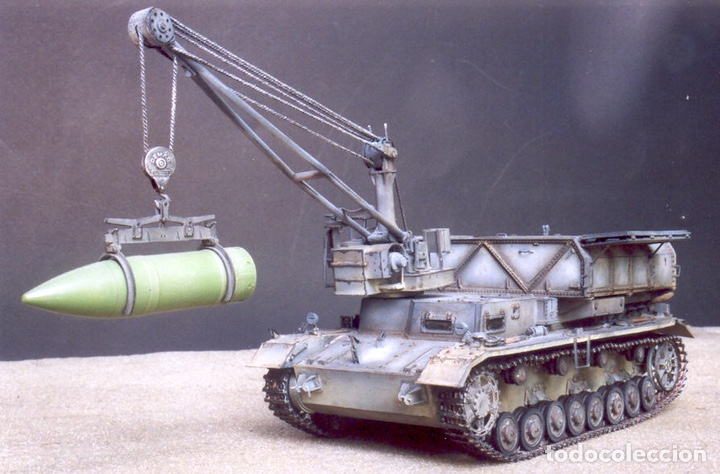 Maquetas: German Munitionsschlepper Pz. F 1:72 HOBBYBOSS 82908 maqueta carro amunicionamiento Karl Morsser - Foto 9 - 151040918