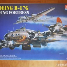 Maquetas: MAQUETA BOEING B-17G DE ACADEMY - E: 1/72 FORTALEZA VOLADORA - SEGUNDA GUERRA MUNDIAL USAAF. Lote 151121394